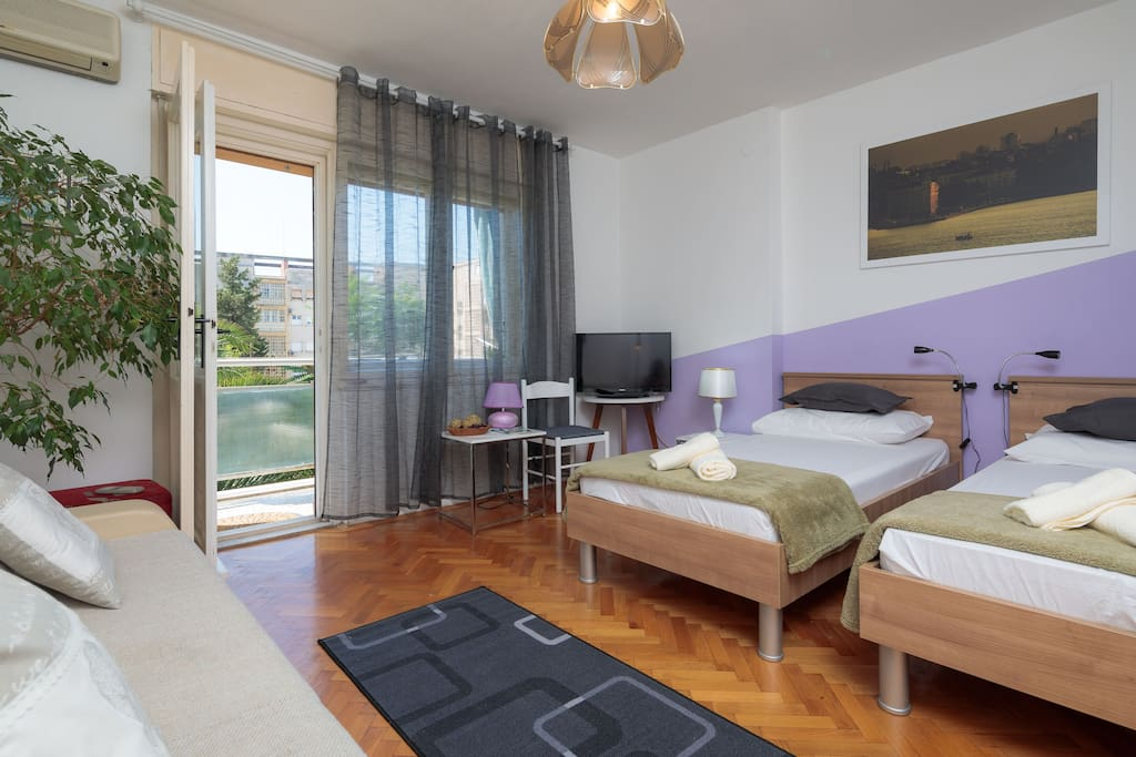 Bedroom for up to 4 people