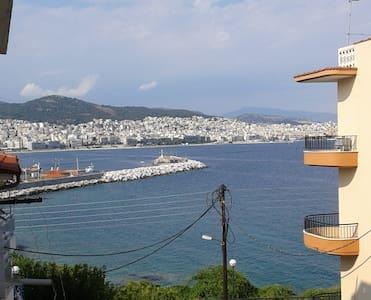 Pretty quiet seaside apt Όμορφο σπίτι στη θάλασσα - Kavala - Wohnung
