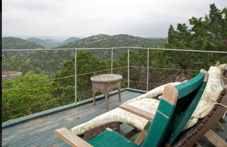 Hilltop Heaven Studio, Spa, too! El Cielo - Pipe Creek - Apartment