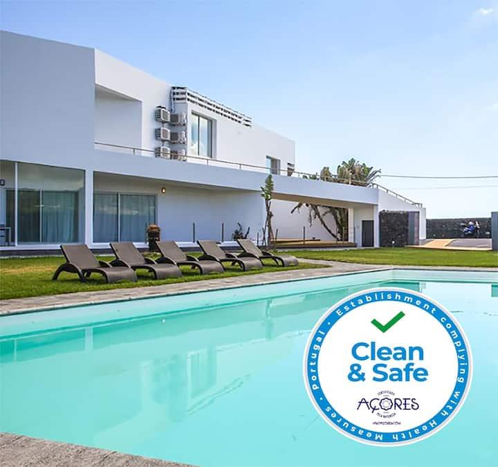 São Vicente Lodge-Pool & Sea View 2 Bed Apt (Atum)