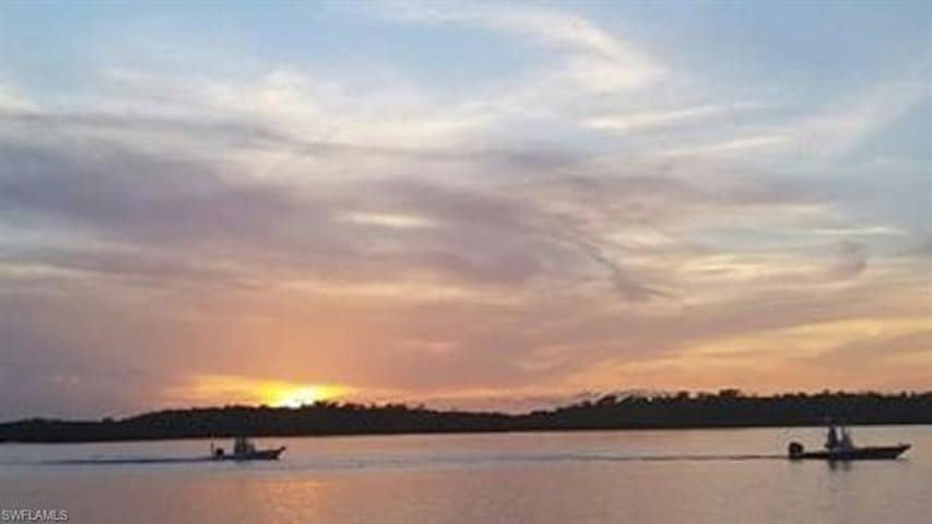 Island paradise perfect for fishing and sunsets