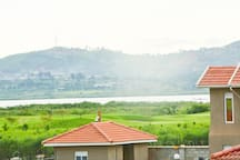 Enjoy the great view of lake and the golf course