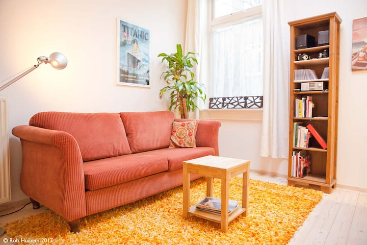 The Happiness Place / downtown for 1, 2 or 3 - Utrecht - Townhouse