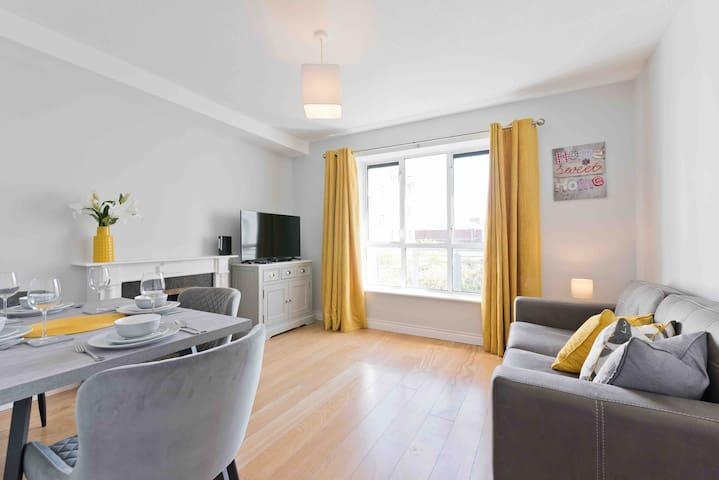 Central Dublin Fantastic Modern Apartment sleeps 4