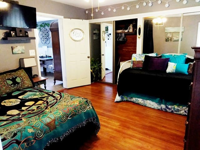 The Enchanted Hideaway Master Suite in Fort Worth