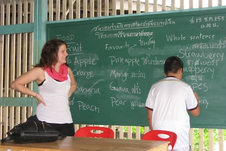 Volunteer English Teacher Ayutthaya Bang Pa In