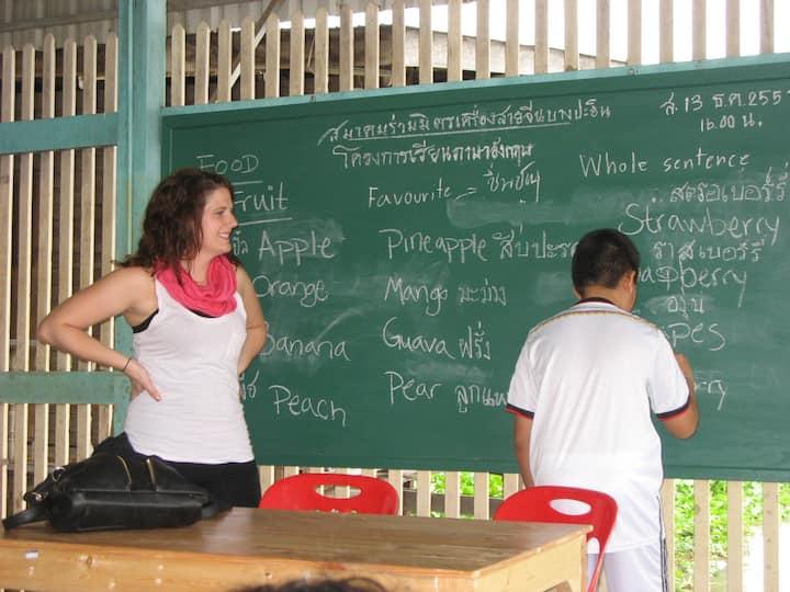 Volunteer English Teacher Ayutthaya Bang Pa In