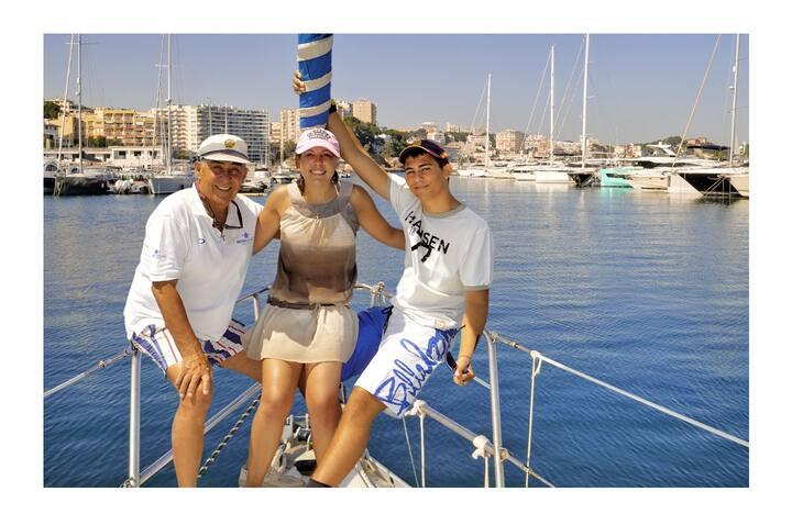 Sailboat near Palma
