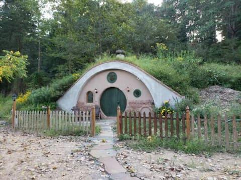 Hobbit Style Underground Cabin