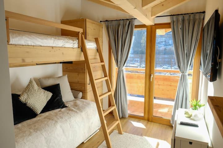 Üna Lodge - Family room