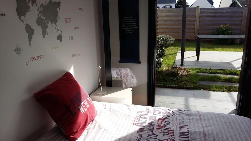 Faites le tour du monde: chambre cosy au calme..