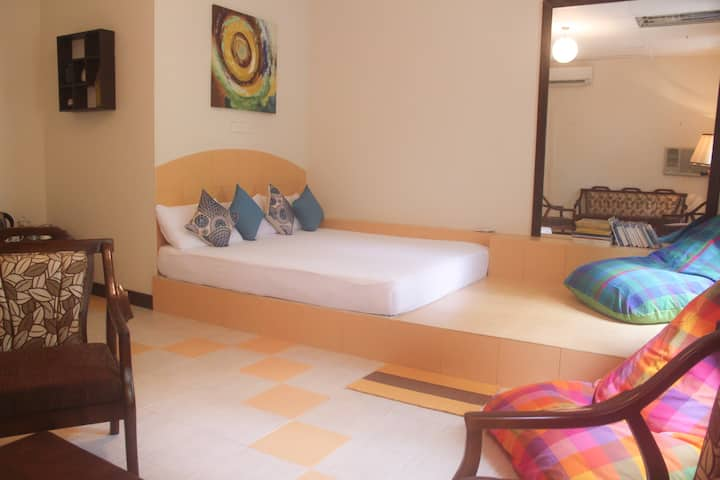 Elegant Room near Airport & Negombo with A/C