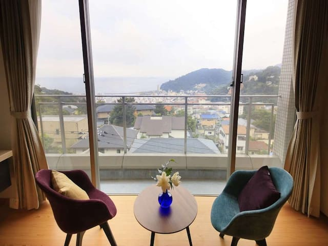 Free pick up from Kinomiya station! Onsen public bath and a spectacular view room