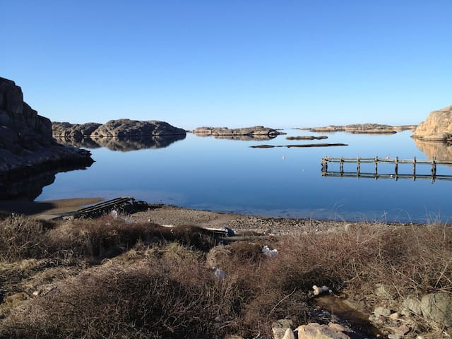 "Bohuslän ""one of the last great wildernesses"" - Tanum V - กระท่อม"