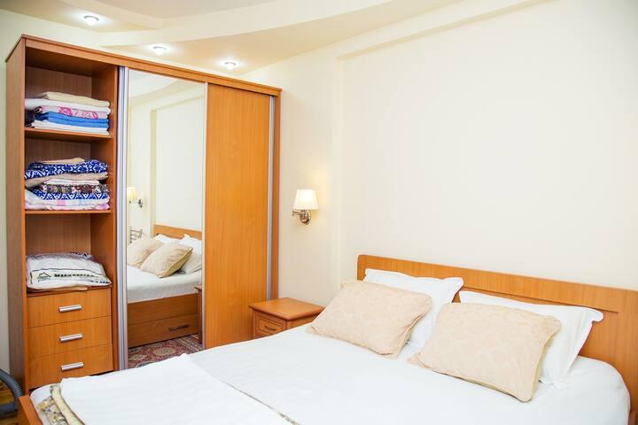 Уютная и комфортная квартира рядом с парком Бобура