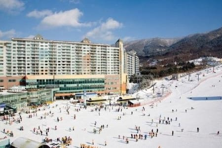 Wellihilli ski Condominium close to Phyungchang