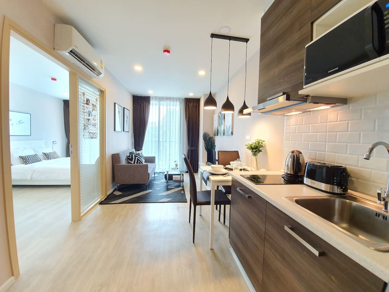 ❤️ Brand new apartment in the central of Nimman