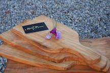 Mount Briscoe Cherry cutting boards