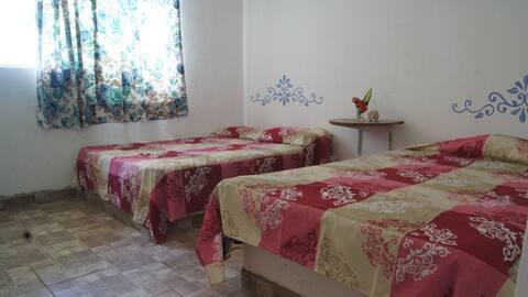 Casa-Bungalow 6/8 personas, Caleta de Campos Mich.