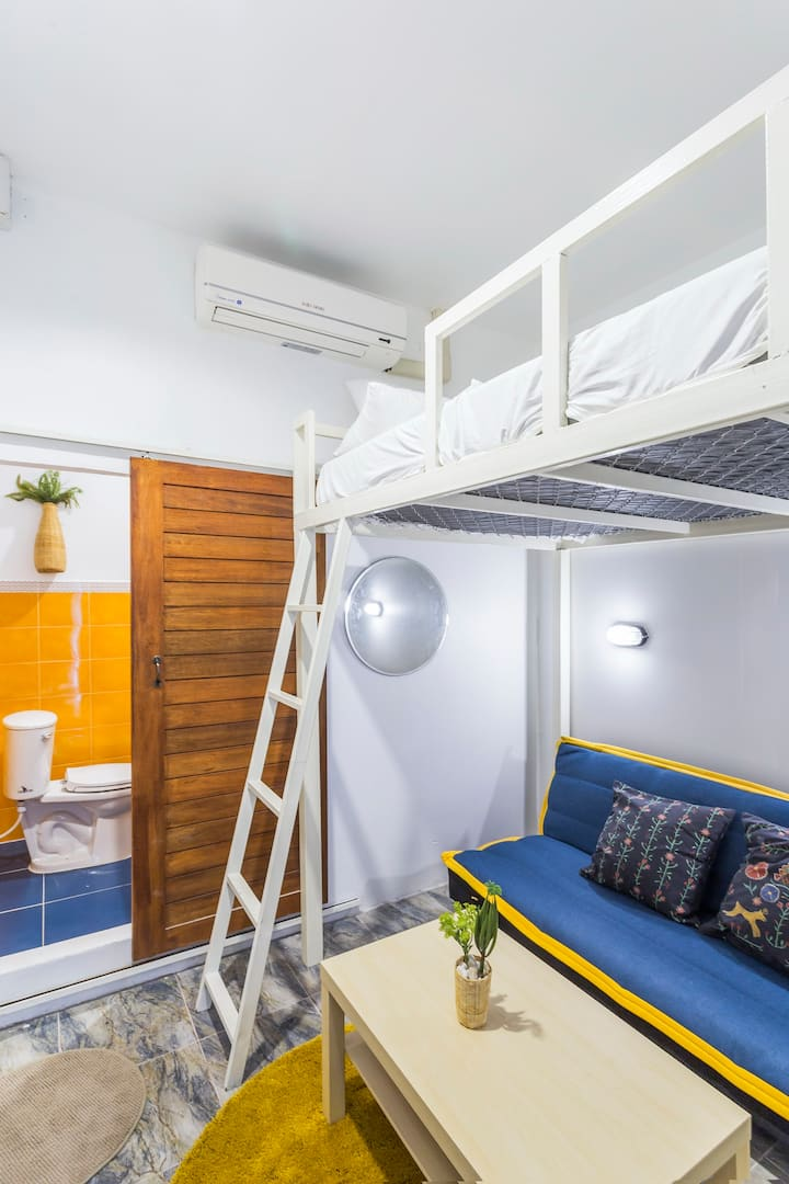 Private double bed room type 4