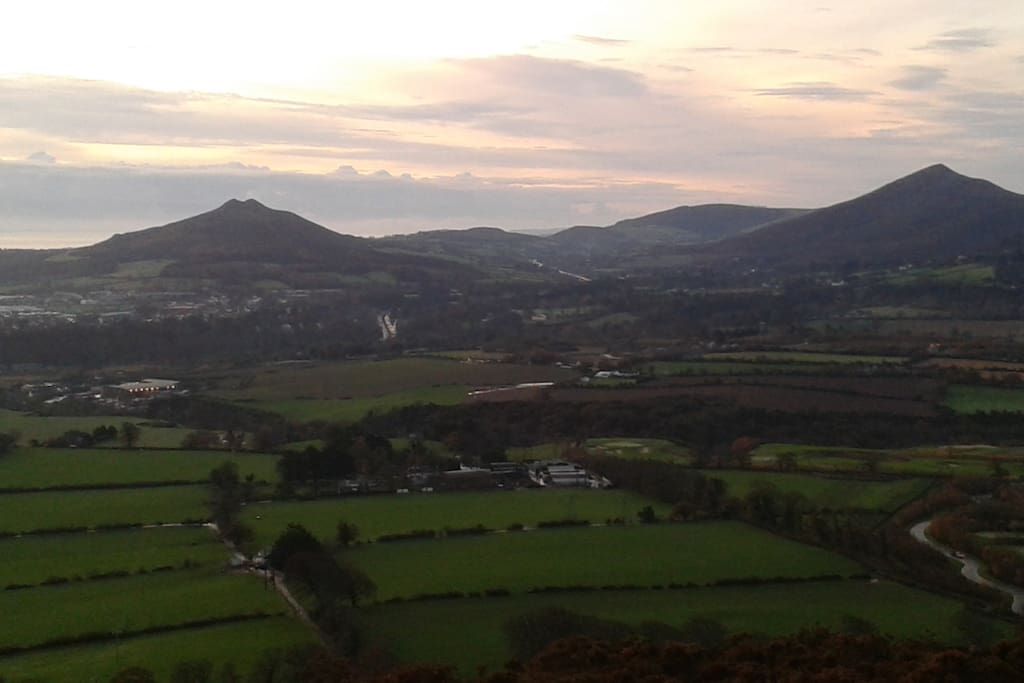 One of the many spectacular views from the top of Carrickgolligan.