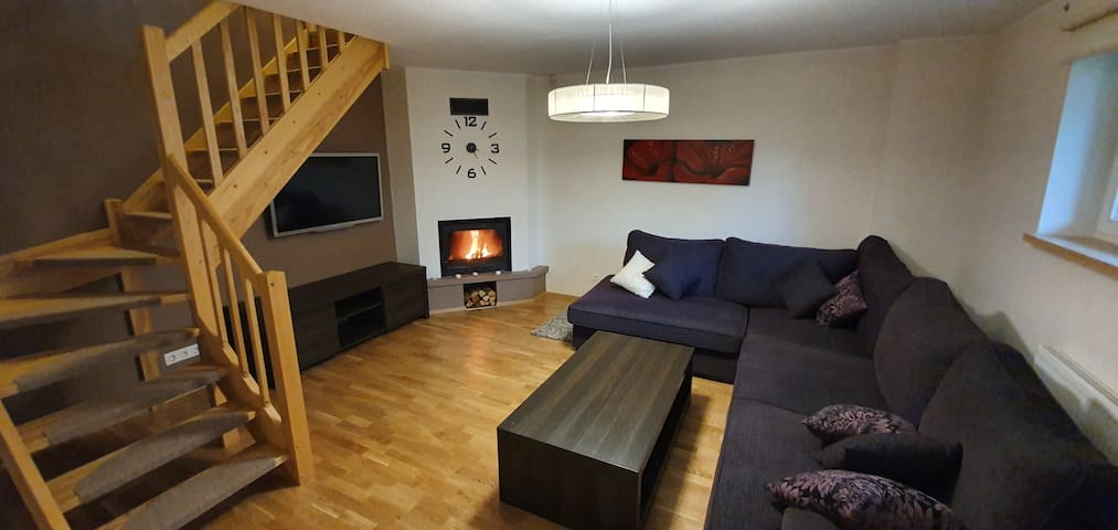Apartment with sauna in city centre