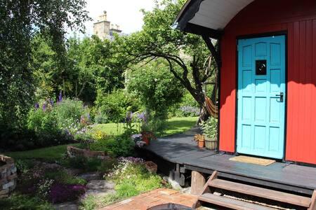Unique urban retreat eco cabin