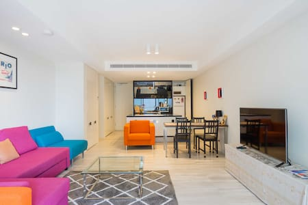 Trendy Exec CBD Pad-Sleeps 5-Walk Everywhere - Haymarket