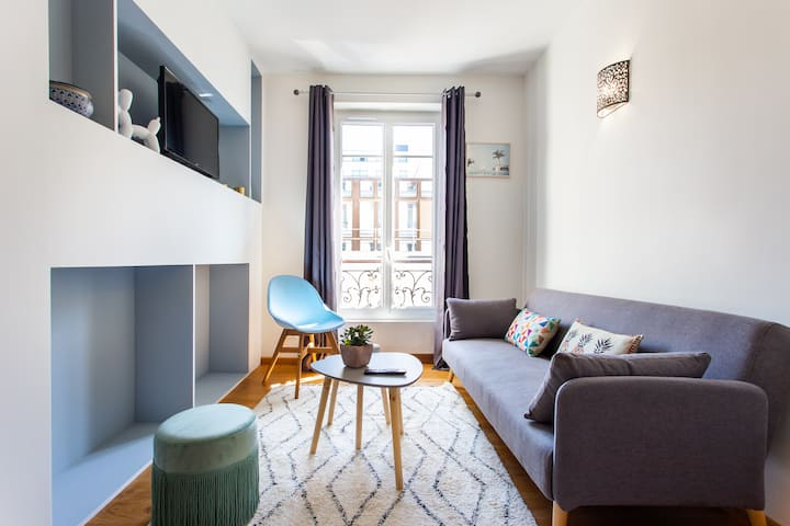Levallois/SoOuest: Cosy Apartment 1BR