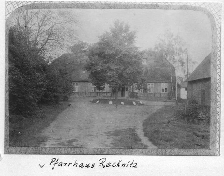 Old Picture of the Pfarrhaus