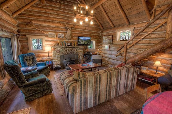 Historic Log Cabin, Private Beach, Filtered Lake Views, Deck, BBQ (NVH0581)