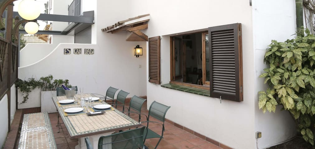 PLATÓ-attached house with private garden-Llafranc-Costa Brava - Llafranc - House