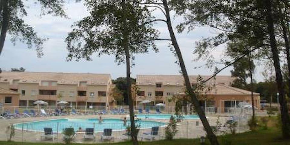 Super apt T2 climatisé avec piscine/mer prix promo - Santa-Maria-Poggio - Huoneisto