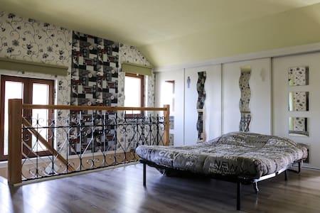 haut d une maison avec lavobo wc - Neuf-Mesnil - Haus