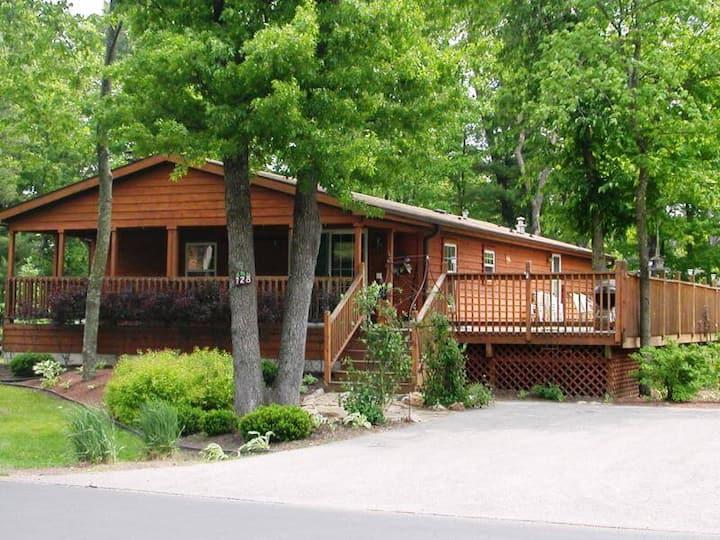 Northern Exposure @ Spring Brook Resort | Ideal Dells Family Getaway | Game Room