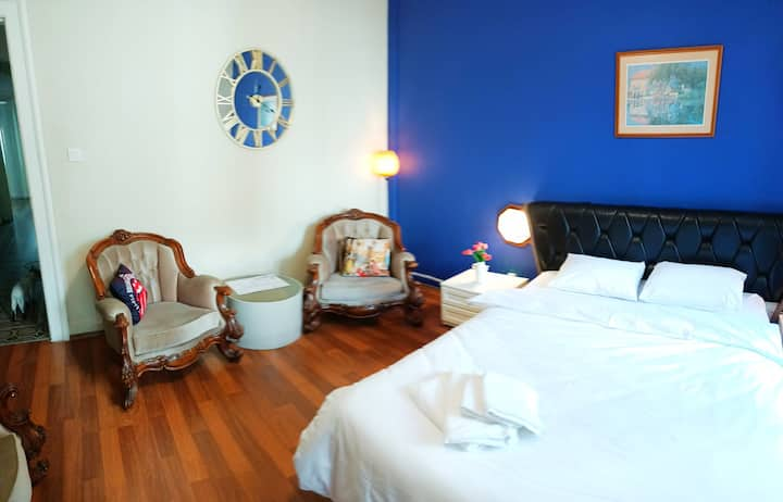 GREAT HISTORICAL LUXURY ROOMS 2 MN AIRPORT TRANS.