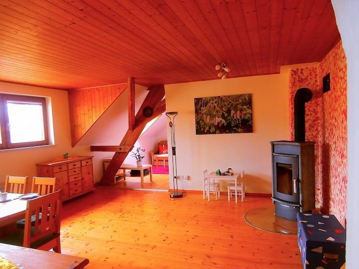 Ferienwohnung Mülhaupt, (Ühlingen-Birkendorf), Hermanschau, 102qm, 2 Schlafzimmer, max. 5 Personen