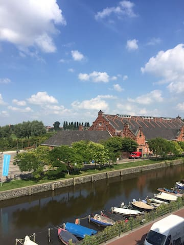 Light central apartment with canal view - Amsterdam - Byt
