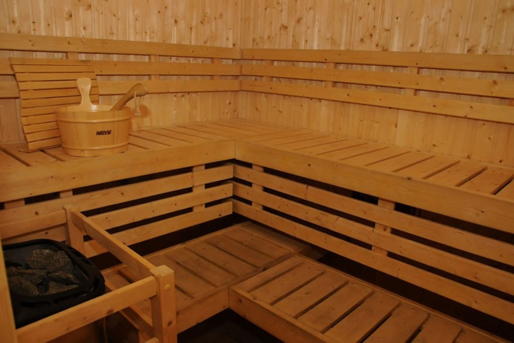 Free use of Sauna (separate for men and women)