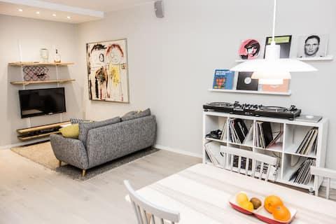 Apartamento fresco en gran ubicación