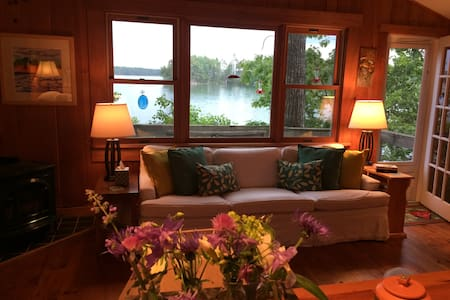 Beloved Waterfront Paradise on Tidal River - Damariscotta - Casa