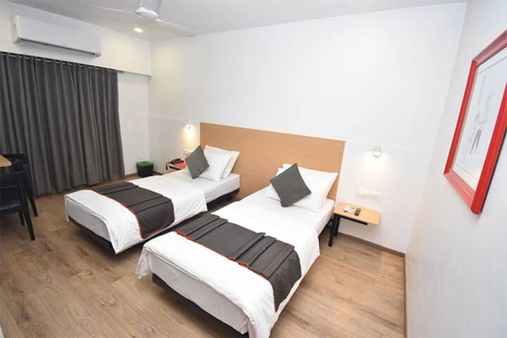 Hotel Ashray Residency Kopar Khairane Navi Mumbai
