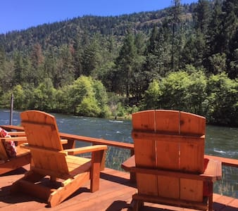 Shady Cove Fish Camp on the Rogue River