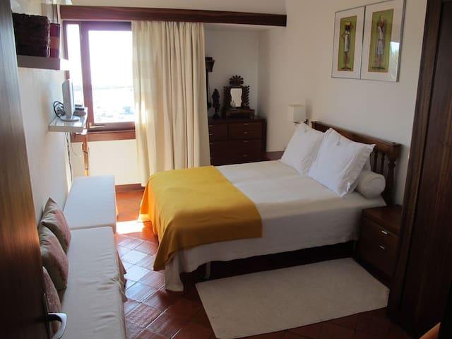 Bedroom 2, sea view