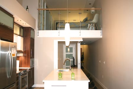 Beautiful Modern Loft Condo in Halifax's North End - Halifax - Condomínio