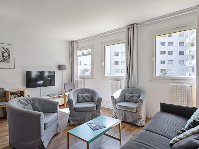 Sunny & quiet flat close to Eiffel Tower, Invalides, Beaugrenelle - Welkeys