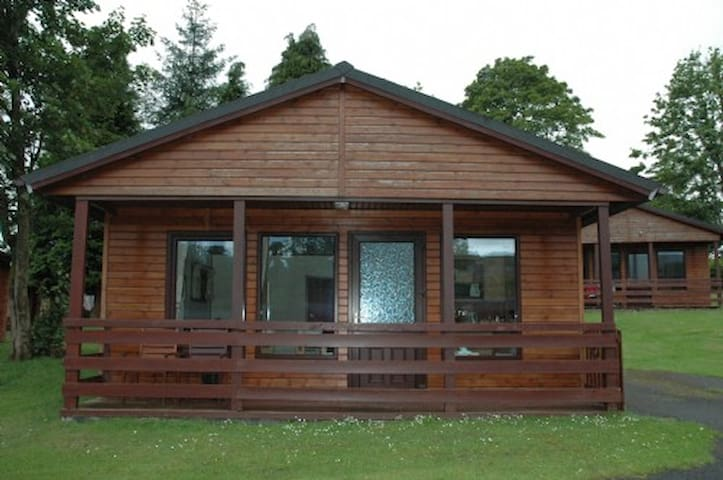 Birch Lodge 19 with Hot Tub - Newton Stewart - Huis