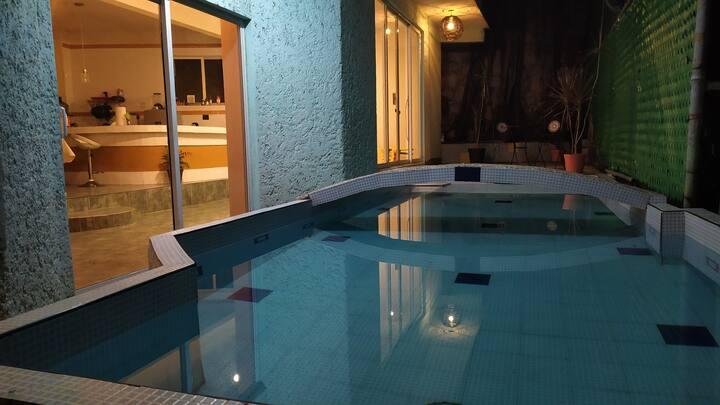 Habitación Olimpo en Condesa Acapulco