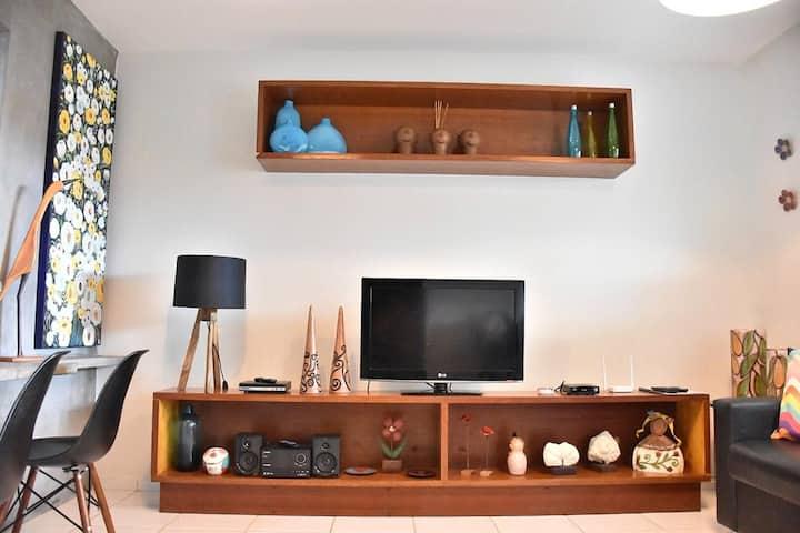 Casa Aconchegante Com Wi-Fi e Ar-Condicionado