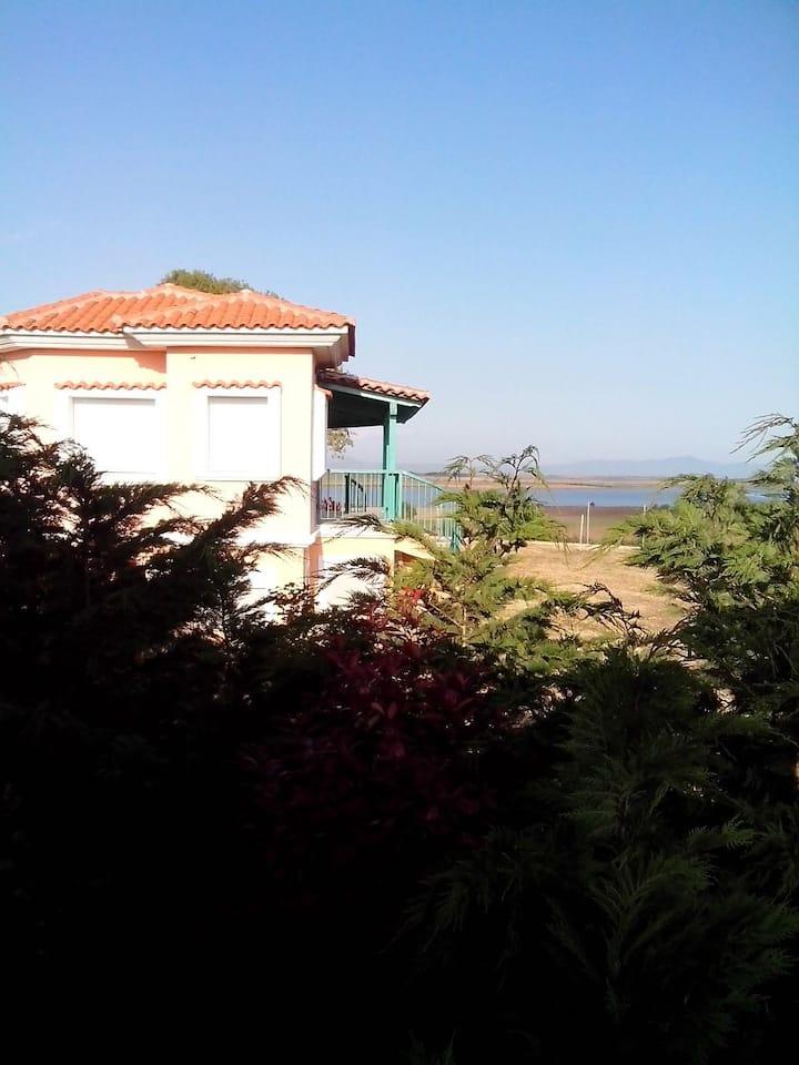 ΦΑΝΑΡΙ, Κατοικίες στην παραλία της Αρωγής